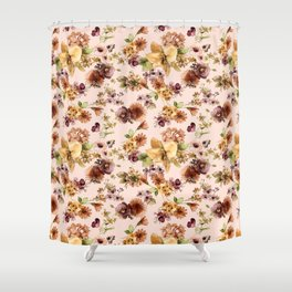 Garden gangster graphic tee Shower Curtain