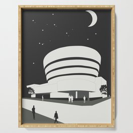 Frank Lloyd Wright, Solomon R. Guggenheim Museum Serving Tray