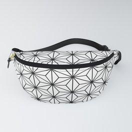 japanese geometric pattern Fanny Pack