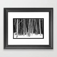Norwegian forest VIII Framed Art Print