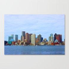 City of Boston Close up Canvas Print