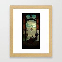 The Kingfisher Framed Art Print