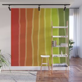 Vertical Color Tones #1 Wall Mural