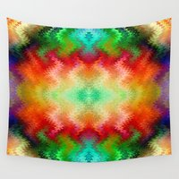 blanket Wall Tapestries featuring Gypsy Blanket by Soulive Design