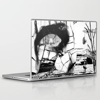 pittsburgh Laptop & iPad Skins featuring PITTSBURGH, PENNSYLVANIA by Alberto Matsumura