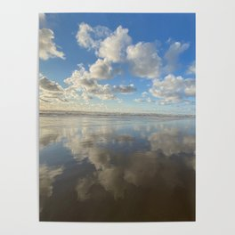 Blue Skies ahead by Seasons Kaz Sparks Poster