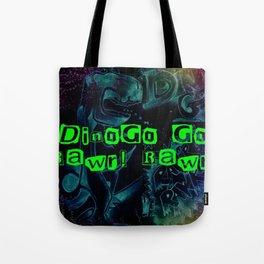 DINOGO GO! GLOW! Tote Bag