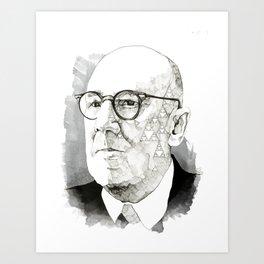 Chaos in Sierpinski Art Print