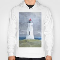 lighthouse Hoodies featuring Lighthouse by EtOfficina