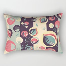 50's floral pattern II Rectangular Pillow
