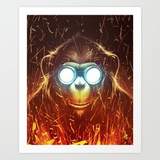 Monksmith II Art Print