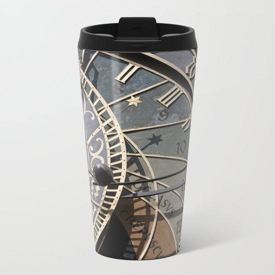Astronomical clock Prague Metal Travel Mug