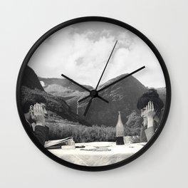 Collage Une femme est une femme - Jean Luc Godard  (1961) Wall Clock