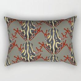 congo tree frog Rectangular Pillow
