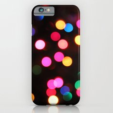 Rainbow Bokeh Slim Case iPhone 6