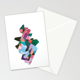 bach abstraction Stationery Cards