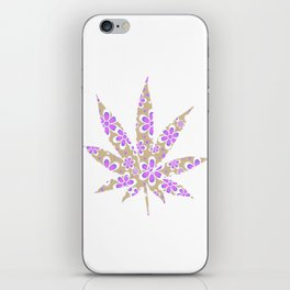 Cannabis Rainbow Design (86) iPhone Skin