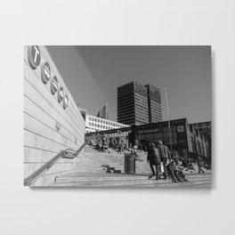 Oslo Central Station, Norway Metal Print
