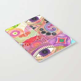colorful words of a poem Notebook