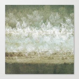 Cold Cold Ground Canvas Print