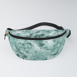 Mint Green Crystal Marble Fanny Pack