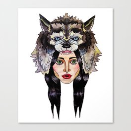 Howlin' For You Canvas Print