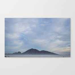 Camelback Mountain in the Fog Canvas Print