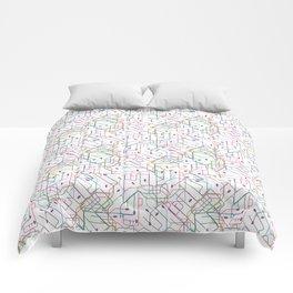 London Subway Comforters