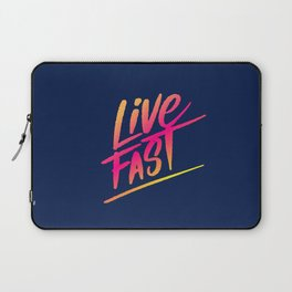 live fast Laptop Sleeve