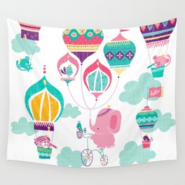 Greetings from India Wall Tapestry