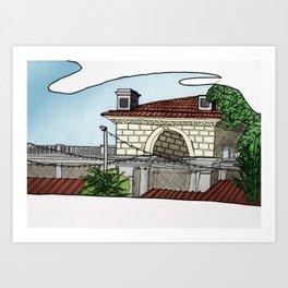 Union Square Pavilion Art Print