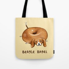 Beagle Bagel Tote Bag