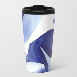 Royal Blue Palms no.1 Travel Mug