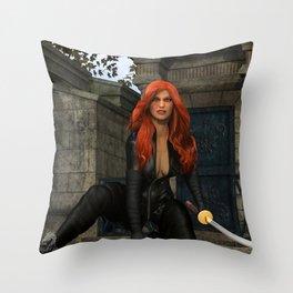Graveyard Vengeance Throw Pillow