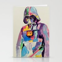 vader Stationery Cards featuring vader by kuri