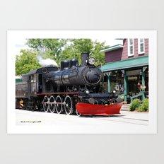Wakefield Train Art Print