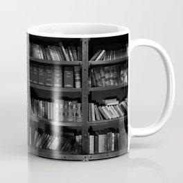 Antique Library Shelves - Books, Books and More Books Coffee Mug