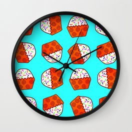 Cuppy Cake Wall Clock