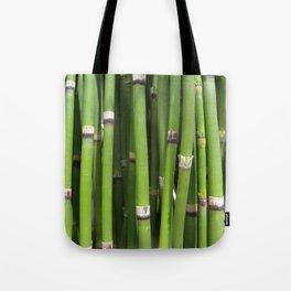 Green Horsetail Tote Bag