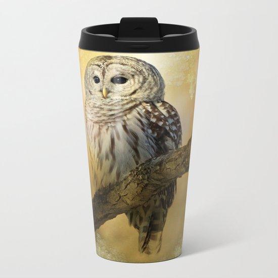 Bathed in light Metal Travel Mug