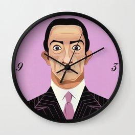 Clockwise Dali Wall Clock