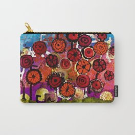 Bloomin Chaos Carry-All Pouch