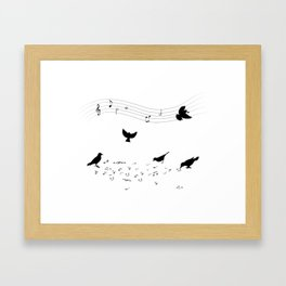 song practice Framed Art Print