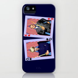 Frank and Claire - An Odd Pair iPhone Case