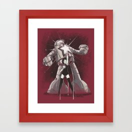 Star Power Framed Art Print