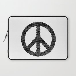 Ban The Bomb, Peace, Love, Protest Laptop Sleeve