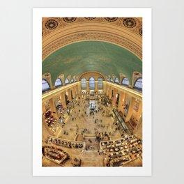 Grand Central Terminal Main Concourse Art Print