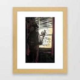 Skelly Hogan Framed Art Print