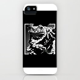 Tree Frog Ink iPhone Case