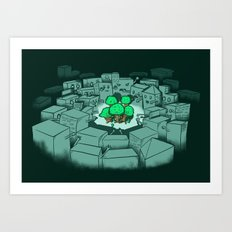 Save The Forest Art Print